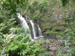 Three Bears Falls / Road to Hana