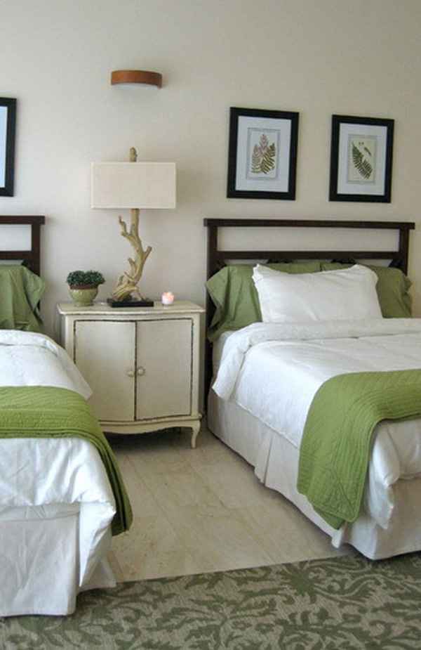 Small-Bedroom-Ideas-in-White-and-Green