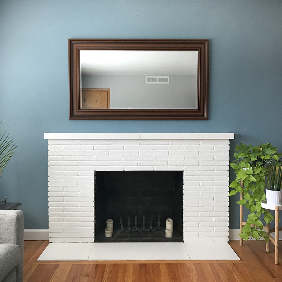 diy fireplace mantel u2013 megan u0027s moments