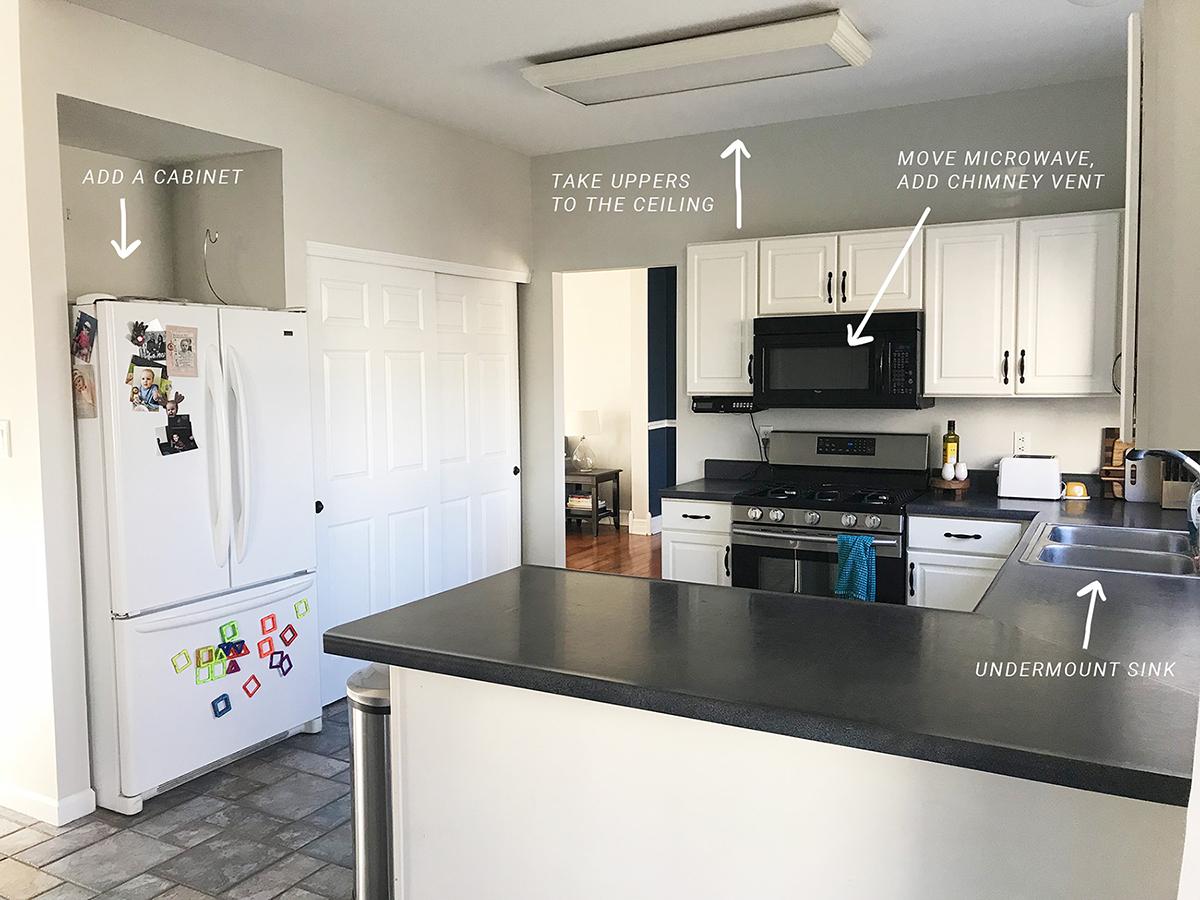 Kitchen Remodel Pt 1 : The Plan – Megan\'s Moments
