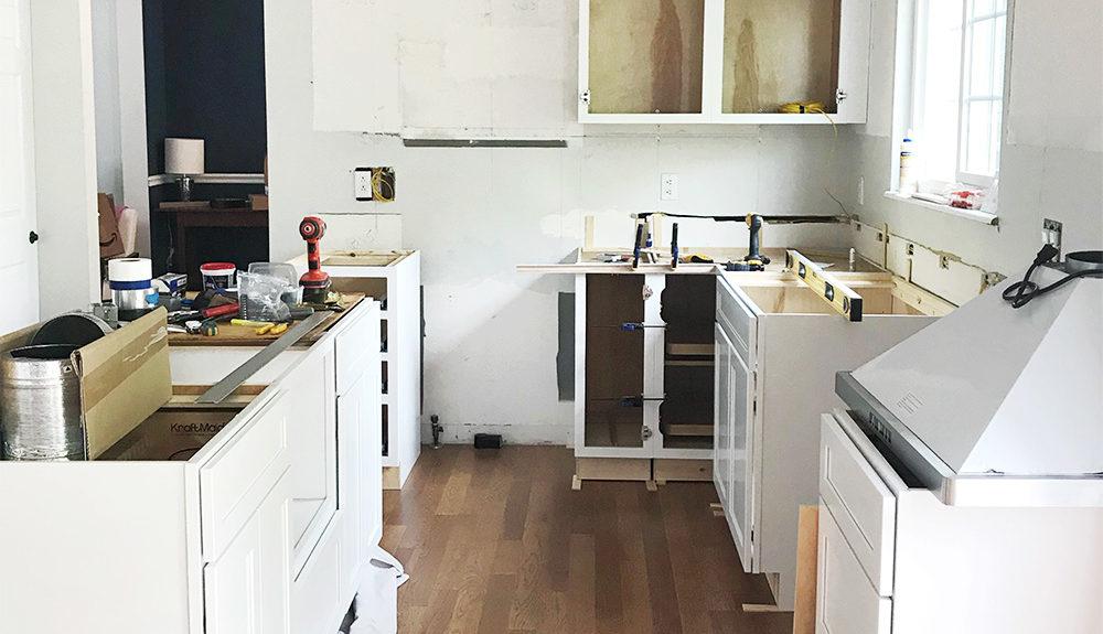 Kitchen Remodel Pt 2: Demo + Progress – Megan\'s Moments